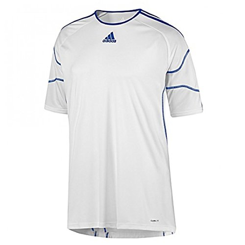 Adidas Youth Registra Taining Jersey Blanco/Azul – XL
