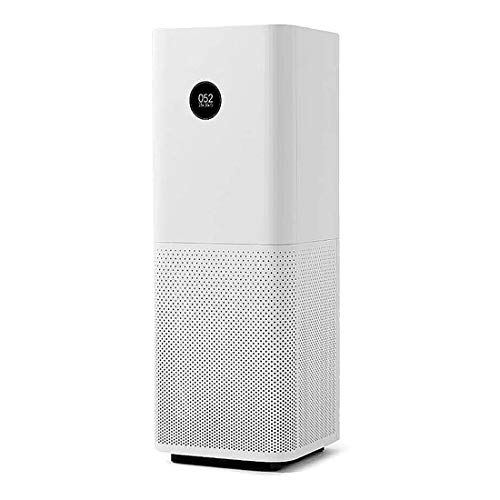 Xiaomi Mi Air Purifier Pro EU version - Purificador de aire, conexión WiFi y pantalla display, para estancias hasta 60m2, 500m3/h, Blanco, 31 x 31.3 x 79.8 cm