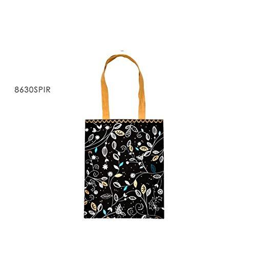 Fox Trot - 8630SPIR - Tote Bag Sac Universel 40 X 32 CM Decor Zen Spirit Tote Bag Sac Universel 40 X 32 CM Decor Zen Spirit