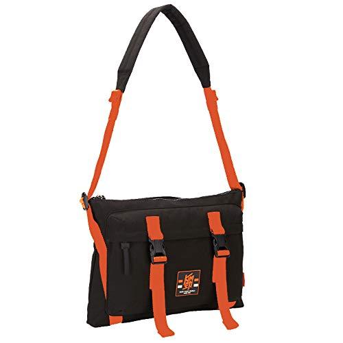 OIWAS Travel Messenger Bag for Men Small Canvas Cycling Bike Crossbody Bag Shoulder Bags Purse Work College School Sport Teens Black