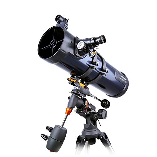 130 EQ large reflector telescope for amateur astronomers, with 130mm aperture and 650mm focal length