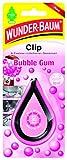 Ambientador CLIP Aroma CHICLE de Arbre Magique para coche dura hasta 30 dias, Bubble gum, pack individual