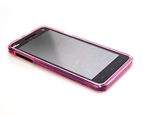caseroxx TPU-Hülle für Wiko Rainbow 4G, Tasche (TPU-Hülle in pink)
