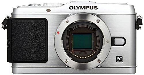 Olympus PEN E-P3 Fotocamera Mirrorless, Sensore CMOS da 12.3 Megapixel, Argento