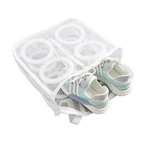 Wäschebeutel Waschmaschine Wäschennetz Wäschesack für Schuhe Mesh Bag Laundry Schuhe Waschen Tasche für Waschmaschine und die Reise