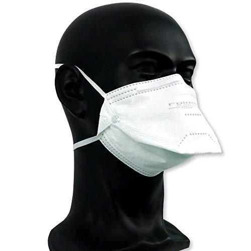 FFP2 Maske ohne Ventil ◆ Atemschutzmaske Staubmaske Mundschutzmaske ◆ CE 2163 EN149 zertifiziert ◆ 10 Stück - 4