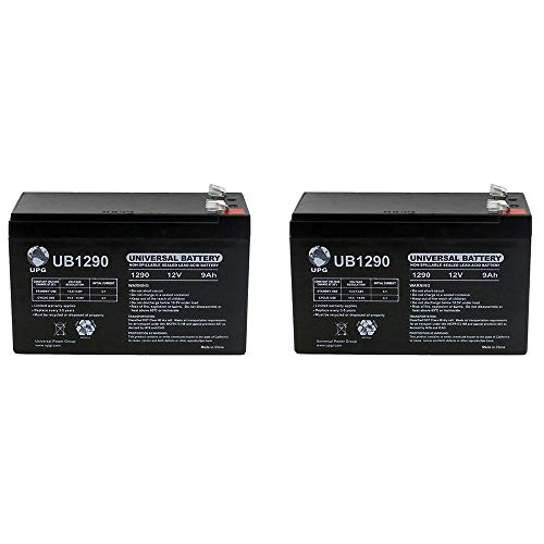 Universal Power Group 12V 9AH SLA Battery for Razor e200 / e200s / e225 / e300 / e300s / e325-2 Pack