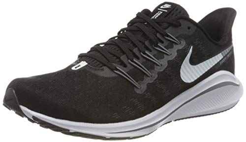 Nike Air Zoom Vomero 14, Running Shoe Donna, Black/White-Thunder Grey, 39 EU