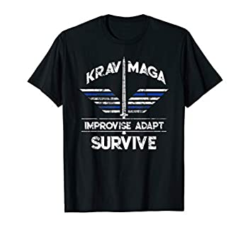 Krav Maga Gear Self Defense Israeli Combat Training T-Shirt