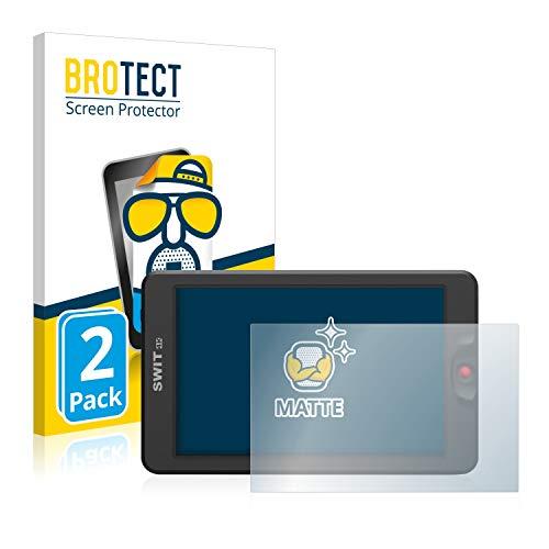 BROTECT 2X Entspiegelungs-Schutzfolie kompatibel mit Swit 3000 Displayschutz-Folie Matt, Anti-Reflex, Anti-Fingerprint