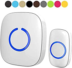 Wireless Doorbell by SadoTech – Waterproof Door Bells & Chimes Wireless Kit