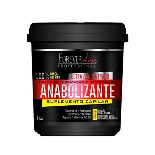 Forever Liss Anabolizante Nutrición Cabello Mascarilla Suplemento 950g