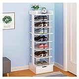 Zapateros La entrada de la entrada que ahorra espacio for el zapato independiente del zapato de zapatos de zapatos multifunción Multifunción Rack de zapatos de 4-8 capas. Estantería para Zapatos