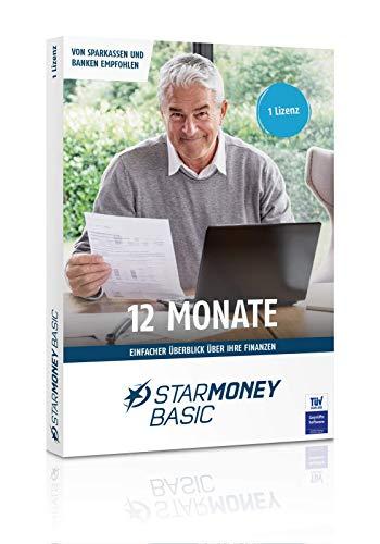 STARMONEY 12 Basis Jahreslizenz (12 Monate ab Lizenzaktivierung) Product Keycard ohne Datenträger