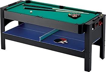 Fat Cat Original 3-in-1 6-Foot Flip Game Table  Air Hockey Billiards and Table Tennis