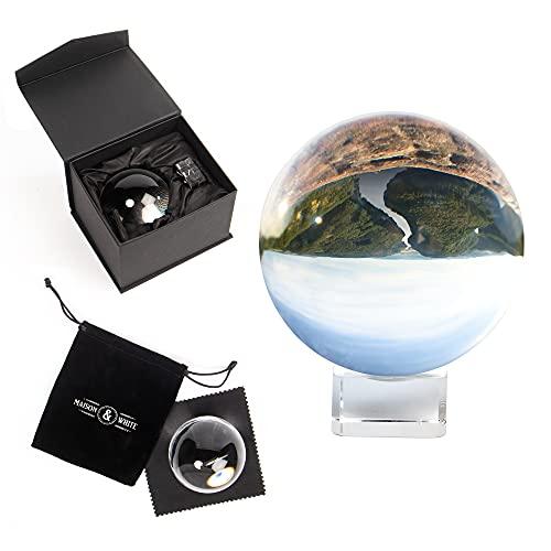 Maison & White Claro bola de cristal | Lente de vidrio K9...