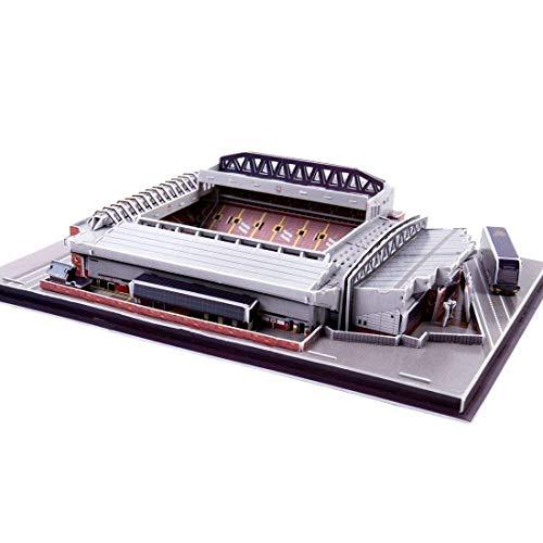 Stadium 3D Jigsaw, Liverpool Anfield Stadium Model Souvenir DIY Puzzle 3D Puzzle DIY Juguete Educativo