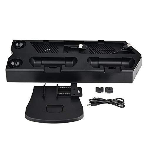 NCONCO Base de carga portátil 3 en 1 para PS4 Slim Pro VR