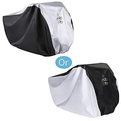 Maveek for 2 Bicycle Rain Cover Waterproof Cycle Bike Outdoor Dust Resistant UV Protection Road Bike Covers