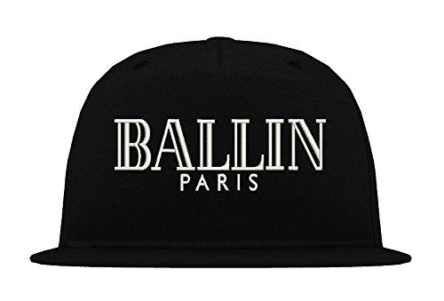 TRVPPY 5-Panel Snapback Cap Casquette modèle BALLIN Paris, différentes couleurs, b610
