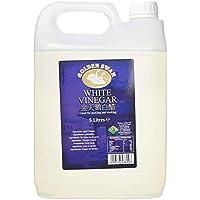 Golden Swan - Vinagre Blanco para Escabechar, Adobar y Cocinar - Botella de 5 litros - Producido en el Reino Unido (1 Ud. )