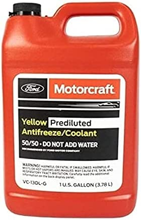 Genuine Ford Fluid VC-13DL-G Yellow El Max 87% OFF Paso Mall Pre-Diluted Antifreeze Coola