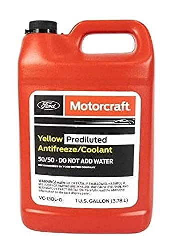Genuine Ford Fluid VC-13DL-G Yellow Pre-Diluted Antifreeze/Coolant - 1...