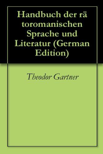 Handbuch der rätoromanischen Sprache und Literatur