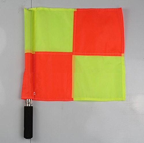 Linesman Flag Football Rugby Hockey Training Schiedsrichter Flagge lsmaa