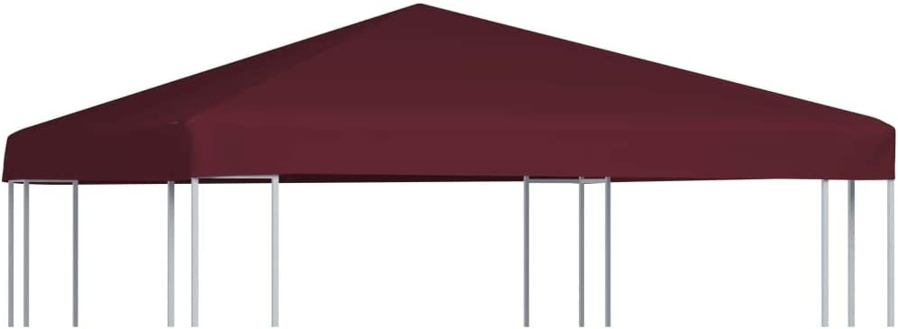 Max Our shop most popular 83% OFF Makastle Gazebo Top Cover with Hook and Loop Fasteners Canopy -