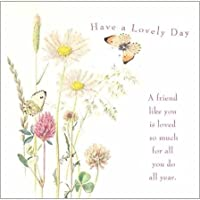 グリーティングカード 誕生日/バースデー 「蝶と花」 フラワー おしゃれ メッセージカード ギフト 贈り物 手紙 封筒付き