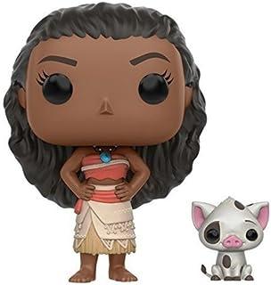 Figuras de acción de la serie POP Disney de Funko de Moana y Pua de la película Moana