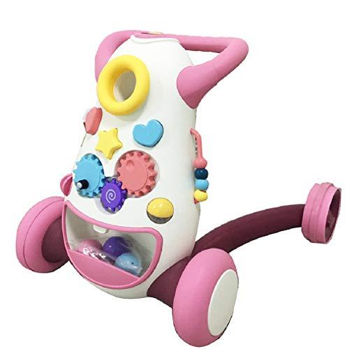 Lauflernwagen, Lauflernhilfe, Spiel- und Laufwagen (Rosa), Walker, Gehhilfe für Babys, Gehlernhilfe, Baby Walker, Laufhilfe für Baby, Baby Gehhilfe