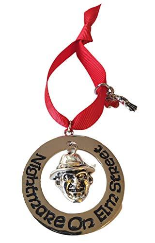 Fandom Emporium Freddy Krueger, Friday The 13th, Horror Ornament Gift Christmas Tree Winter Holiday Fandom Teen Adult Present Fan Pendant Durable