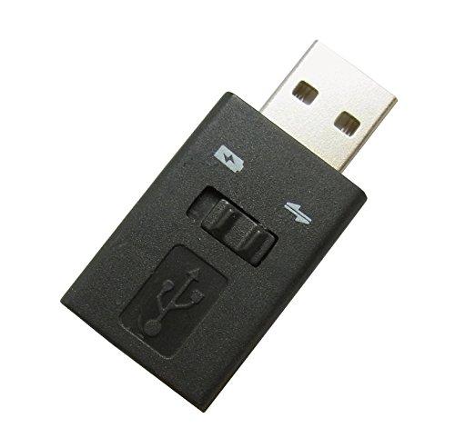 PSVita (PCH1000/2000)USB充電コンバーター+データ通信用スイッチ付 BL0059SW
