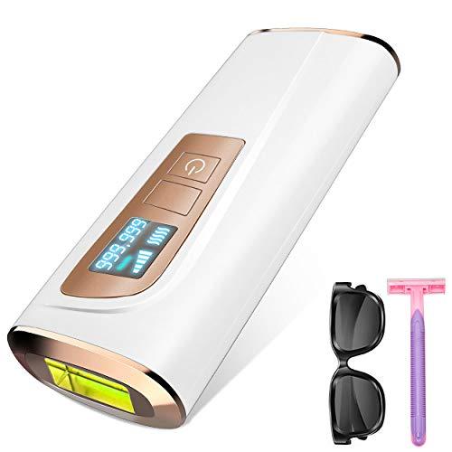 Haarentfernungsgerät Laser haarentfernung,IPL Haarentfernungsgeräte - permanente Haarentfernung, Geeignet für Körper und Gesicht…