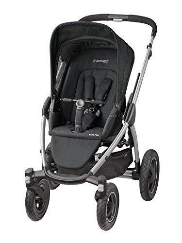 Maxi-Cosi 78208950 Mura 4 Plus Kinderwagen, black raven