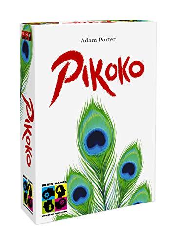 BRAIN GAMES Pikoko – das preisgekrönte Kartenspiel – EIN einzigartiges überraschendes Logik- und Deduktionsspiel. Ab 10 Jahren, Jugendliche und Erwachsene – für Gelegenheits- und Vielspieler