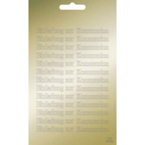Artoz Collato Peel Off Text-Sticker 3759 gold,