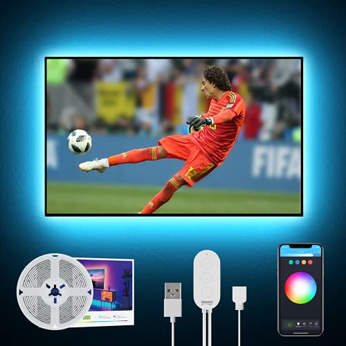 2.8M Tira Led TV/PC WiFi, Gosund Tira Luces LED RGB USB con...