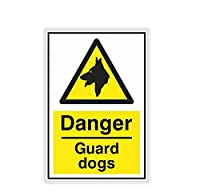 MDGCYDR 車 ステッカー 18Cm X11.7Cm警告安全危険番犬車のステッカー自動車オートバイ外装アクセサリービニールデカール