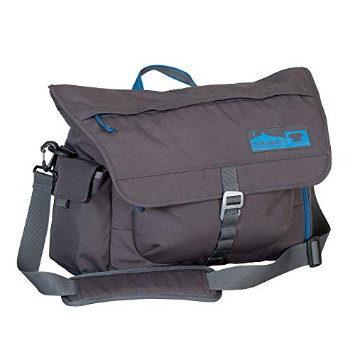 Mountainsmith Adventure Office Messenger Bag, Anvil Grey, One Size