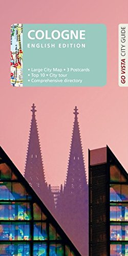 GO VISTA: City Guide Cologne: English Edition - Guidebook with extra map and three postcards