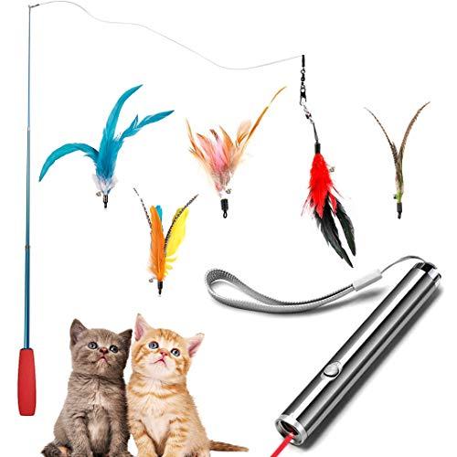 Dioxide 7 Piezas de Juguetes para Gatos