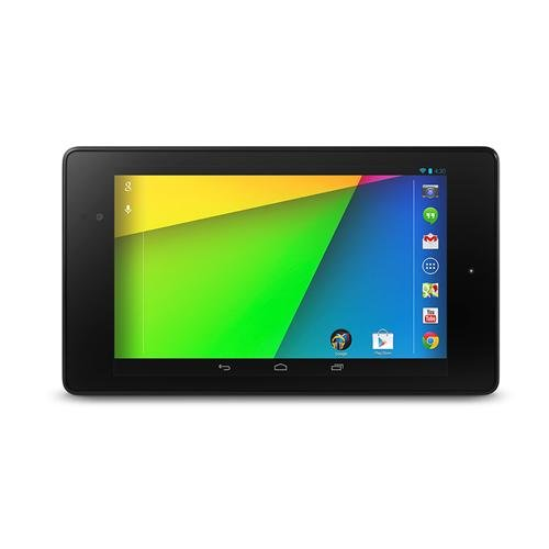ASUS Nexus7 - Tablet de 7' (WiFi + Bluetooth 4.0, NFC, GPS, 16 GB, 2 GB RAM, Android Jelly Bean 4.3), Negro [Importado]