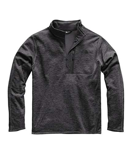 The North Face Men's Canyonlands ½ Zip, TNF Dark Grey Heather, Medium