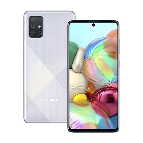 Samsung Galaxy A71 Dual-SIM 128 GB - Prism Crush Silver (UK Version)