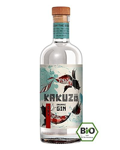 KAKUZO ® Organic Dry Gin - Japanische Gin Kreation - mit Wacholder, Koriander & Lemongrass