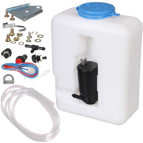 12 V Universal-Scheibenwasch-System/Scheibenwaschanlage / Scheibenwaschpumpe / 1,3 Liter