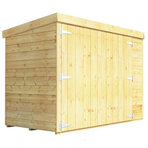 BillyOh Mini Keeper 6x3 Overlap Wooden Bike Store Garden Storage Shed